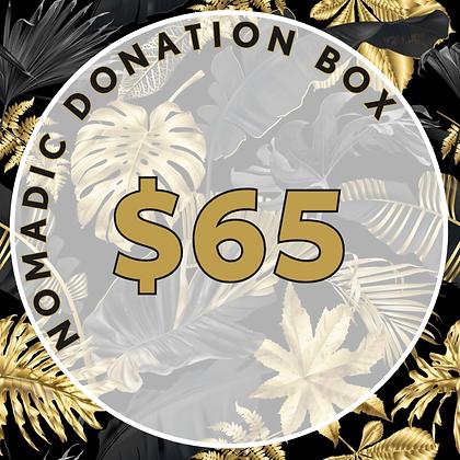Nomadic Donation Box