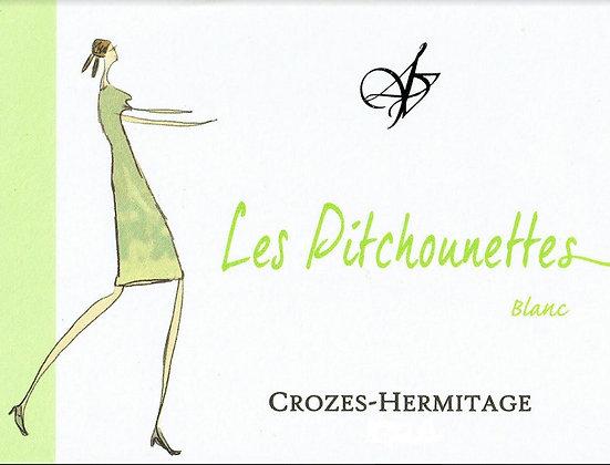 DOMAINE LES 4 VENTS Les Pitchounettes Blanc Crozes-Hermitage 2017 Rhone (white)