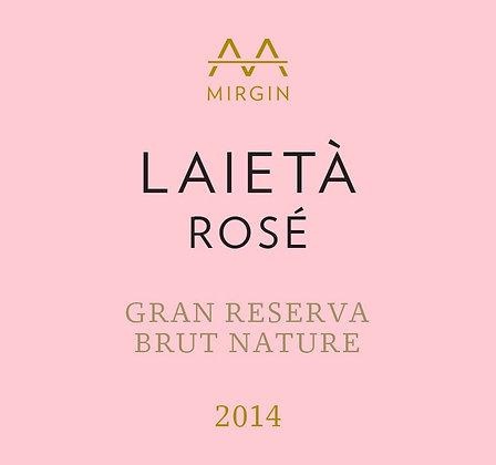 ALTA ALELLA Laietà Gran Reserva Cava Rosé 2014 Catalunya, Spain (sparkling rosé)