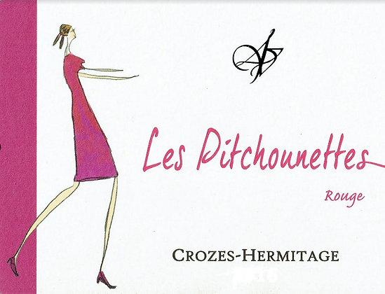 DOMAINE LES 4 VENTS Les Pitchounettes Crozes-Hermitage 2018 Rhone, France (red)