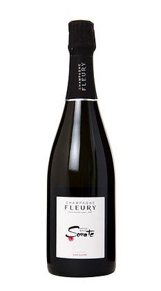 CHAMPAGNE FLEURY 'Sonate' Extra Brut Sans Soufre 2011 (sparkling white)
