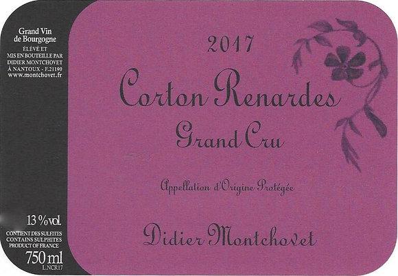 """DIDIER MONTCHOVET Corton 1er Cru """"les Renardes"""" 2017 Burgundy, France (red wine)"""