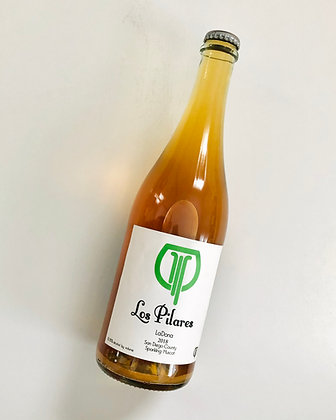 LOS PILARES LaDona Muscat PetNat 2019 (sparkling orange wine)