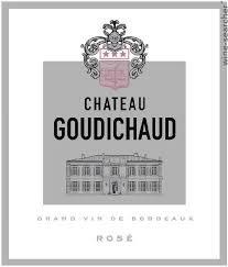 CHATEAU GOUDICHAUD Bordeaux Rose 2014 Bordeaux, France (Rose)