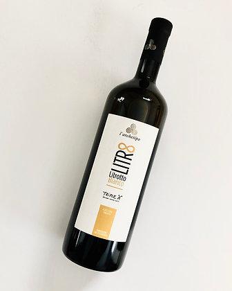 L'ARCHETIPO Litrotto Bianco 2018 Puglia, Italy (orange wine)