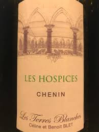 LES TERRES BLANCHES Les Hospices 2016 Loire, France (white wine)