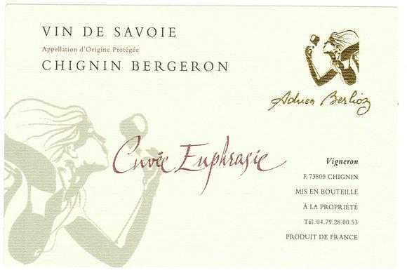 """DOMAINE DU CELLIER DES CRAY """"Euphrasie"""" 2017 Savoie, France (white wine)"""