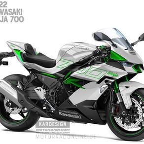 Kawasaki Ninja 700R渲染圖,你有興趣嗎?