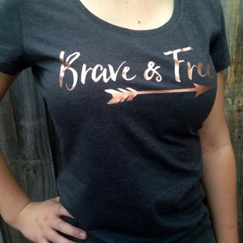 Brave & Free Tee