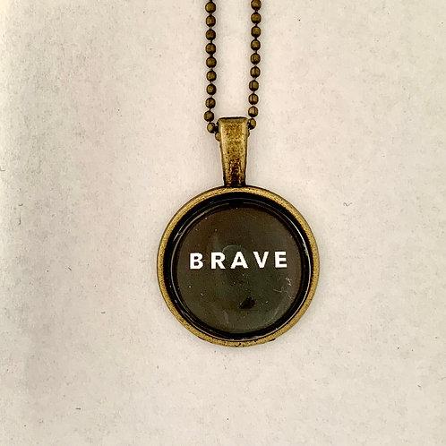 Brave Brass Necklace