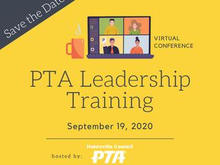 Leadership Training Registration Open!