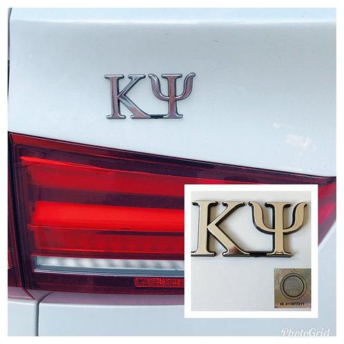 Kappa Psi Auto Emblem