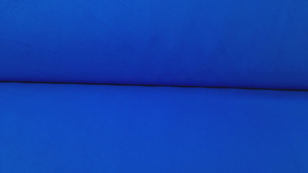 bomullstoff koboltblå