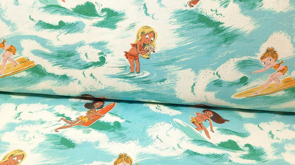 Malibu Sayulita Heather Ross, jenter på surfebrett akvamarin, 0,5 meter