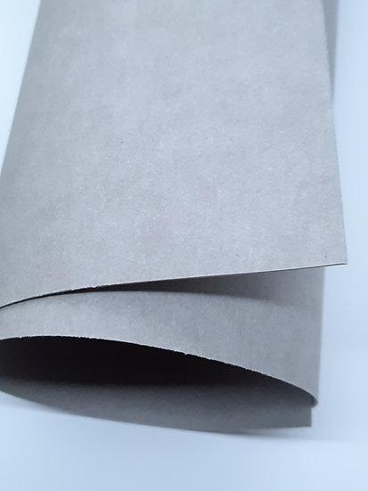 kraft-tex grå vaskbar papp, metervare
