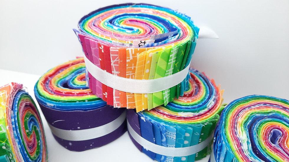 Jelly Roll regnbue, 25 stk