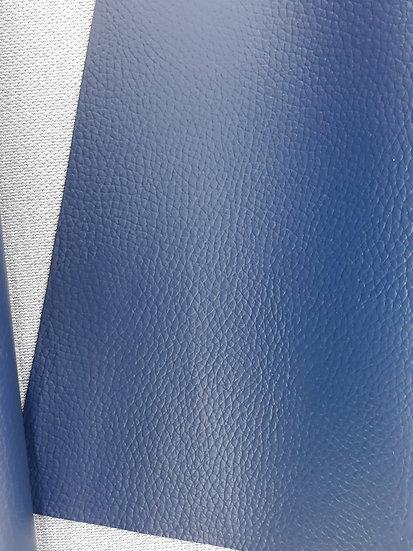 imitert lær/ kunstskinn marineblå, 50 cm x 1,40 m