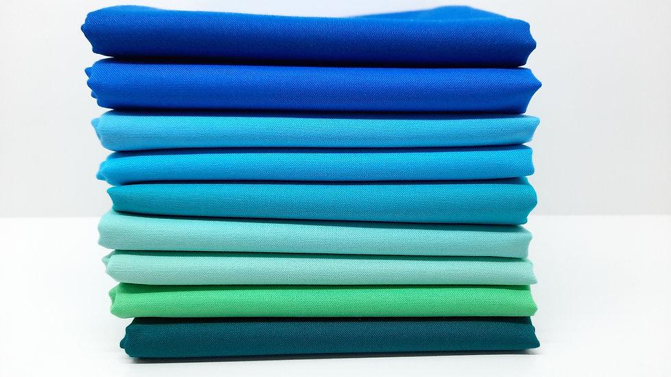 solids blå / sjøgrønn