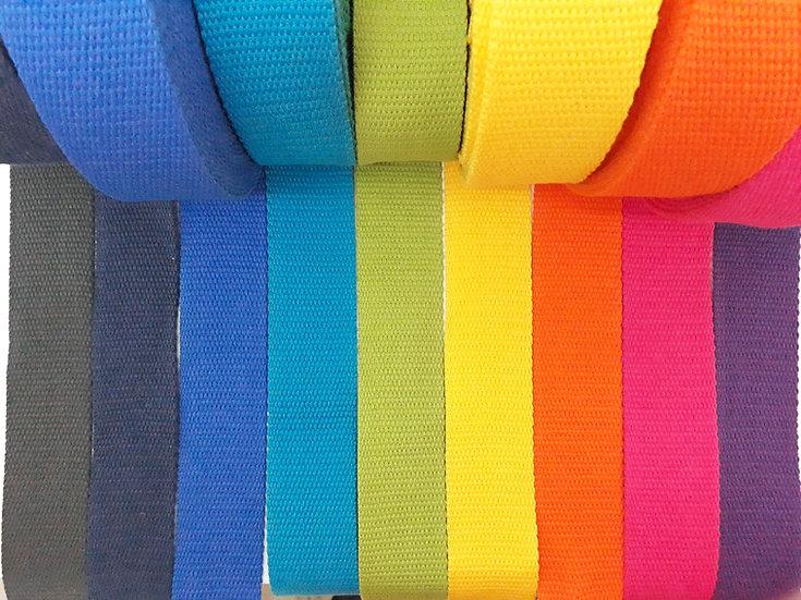 vevet bånd 40mm, flere farger
