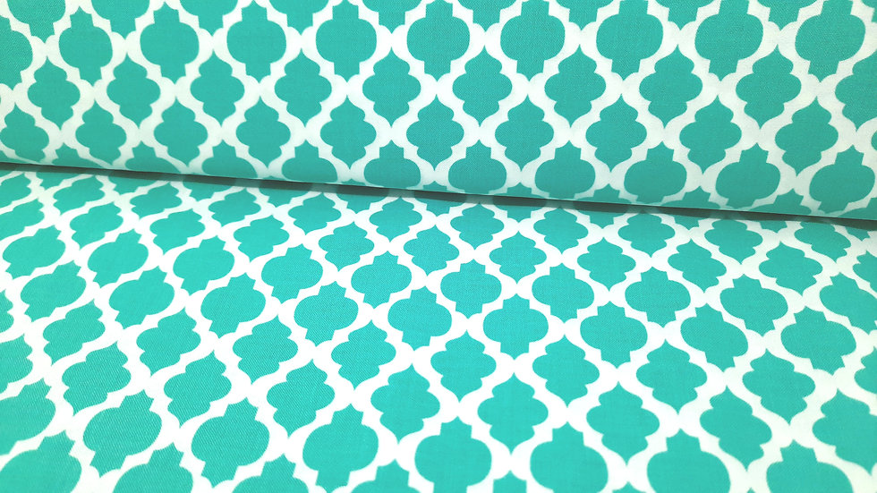 Grow! Me & My Sister Designs, ornamenter i mint, 0,5 meter