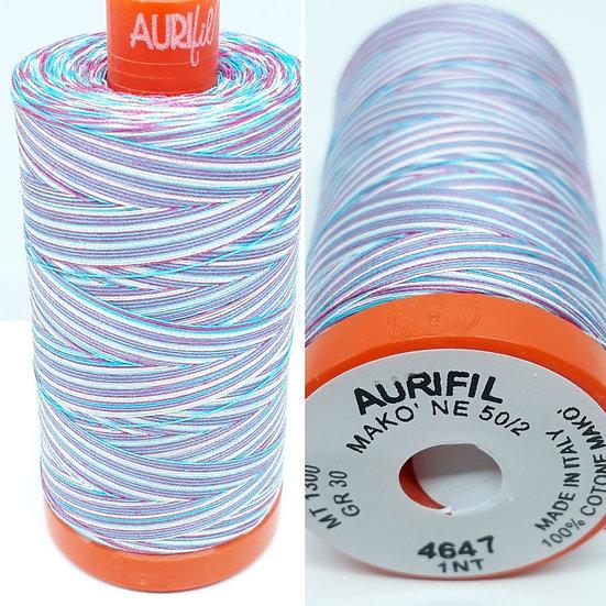 Aurifil 4647 bomullstråd 50wt, 1.300m