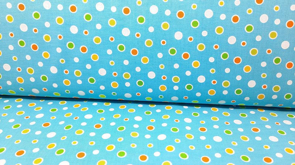 Toadally Cool Greta Lynn, bobler på lyseblå, 0,5 meter