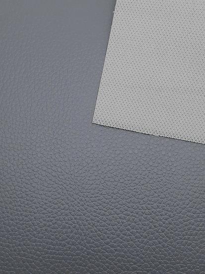 imitert lær/ kunstskinn grå, 50 cm x 1,40 m