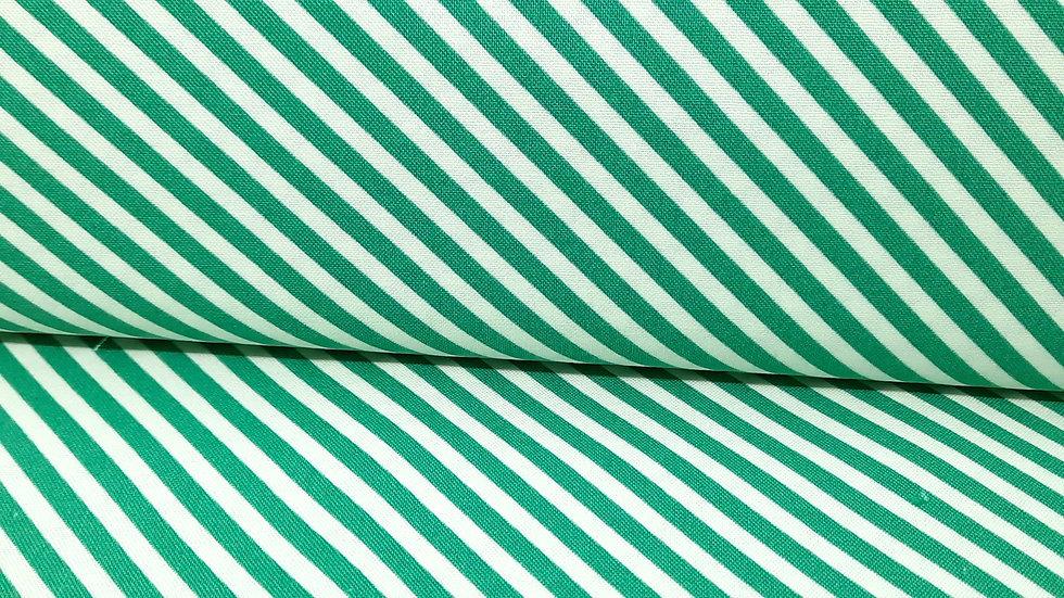 handmade Bonny & Camille, striper grønn/hvit, 0,5