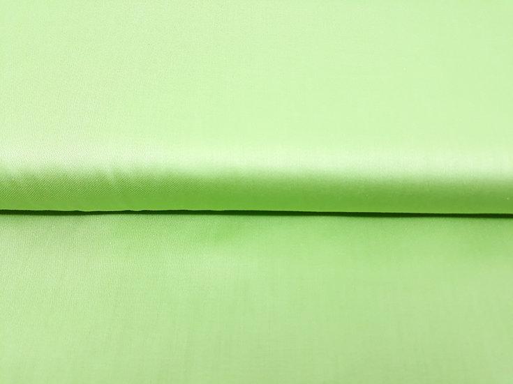 bomullstoff lysegrønn silkeglans