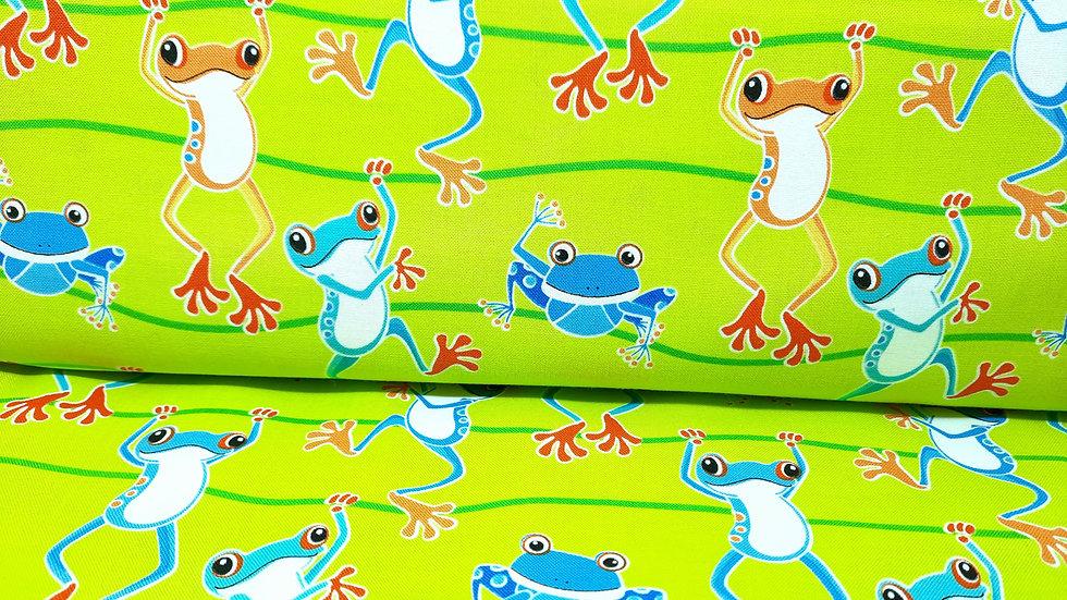 Toadally Cool Greta Lynn, frosker på lime, 0,5 meter