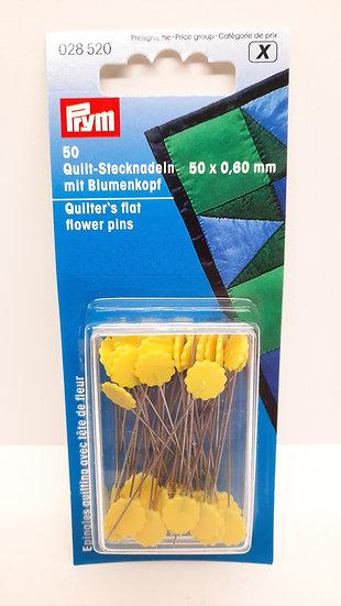 Prym quiltenåler blomsterhode, 50 stk