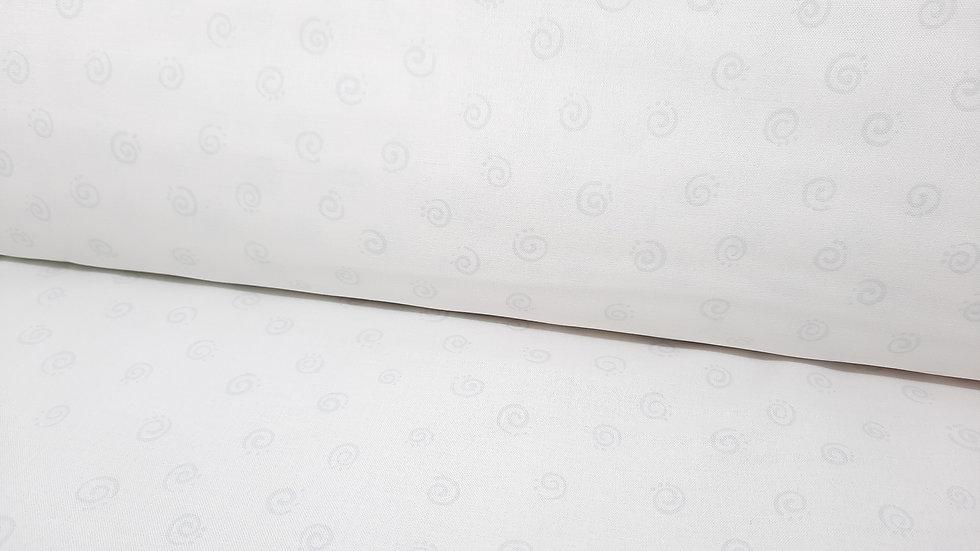 Susybee squiggles, lysegrå på hvit, 0,5 meter