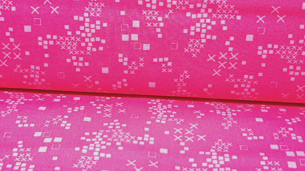Sofia Sunrise Jessica Swift, småmønstred pink, 0,5 m
