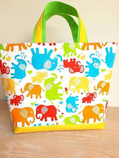 barnehageveske elefanter