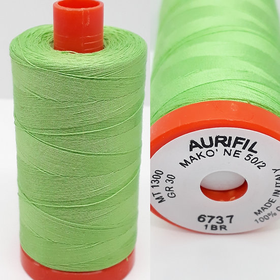 Aurifil 6737 bomullstråd 50wt, 1.300m