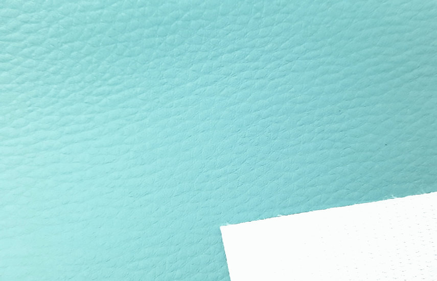 imitert lær/ kunstskinn turkis, 50 cm x 1,40 m