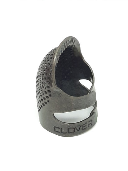 Clover justerbar fingerbøl metall, medium