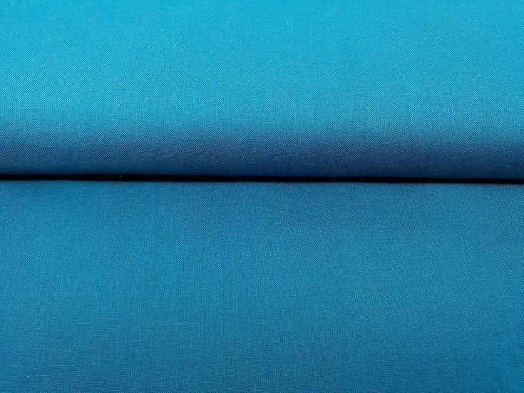 bomullstoff oceanblå