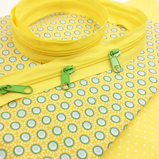 materialpakke pennalhus gul / grønn
