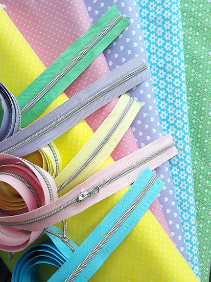 stoffpakke pastell