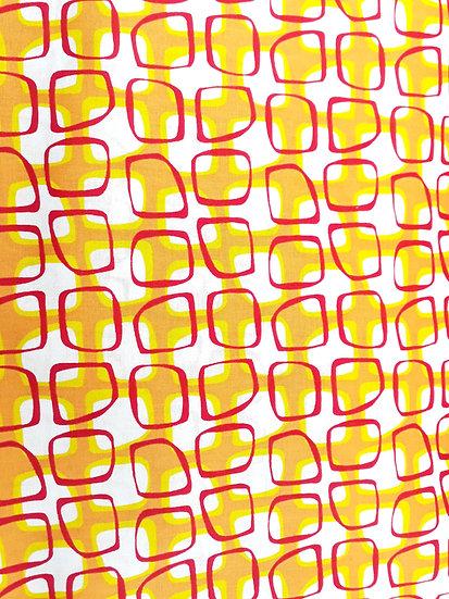 Abstract garden Christa Watson, gitter oransje, gul, rød, 0,5 meter