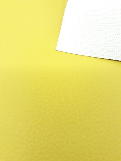 imitert lær/ kunstskinn limegul, 50 cm x 1,40 m