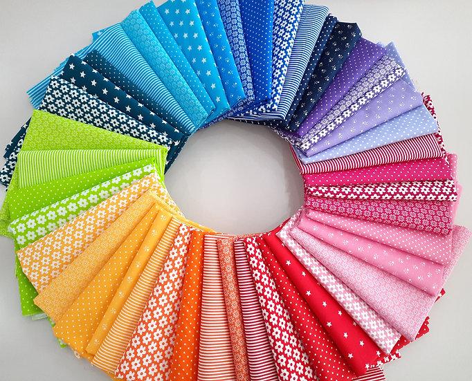 stoffpakke fargeknall