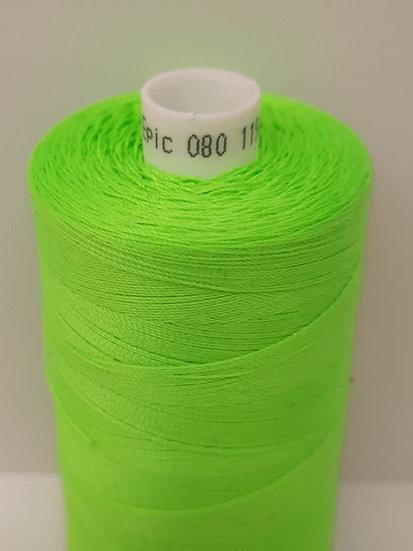 Coats Epic 80 sytråd 1.000m neon grønn