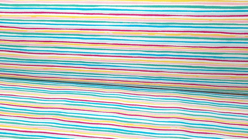 Hello Sunshine Katie Skoog Sunlit Stripes, fargete striper, 0,5 m