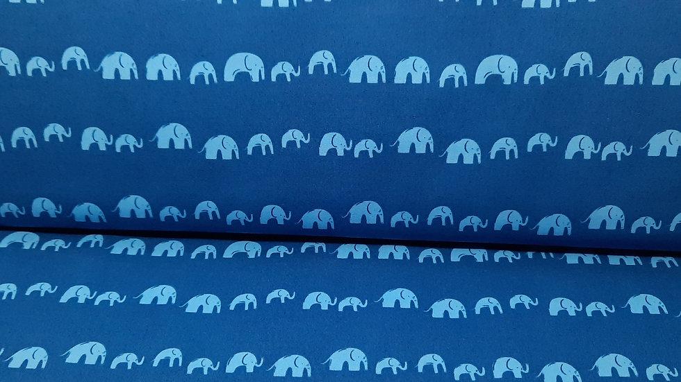 Elephants Echo Electric, elefanter på blå, 0,5m