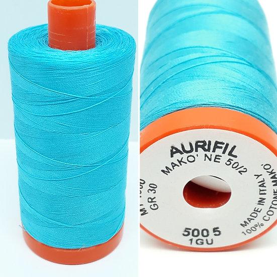Aurifil 5005 bomullstråd 50wt, 1.300m