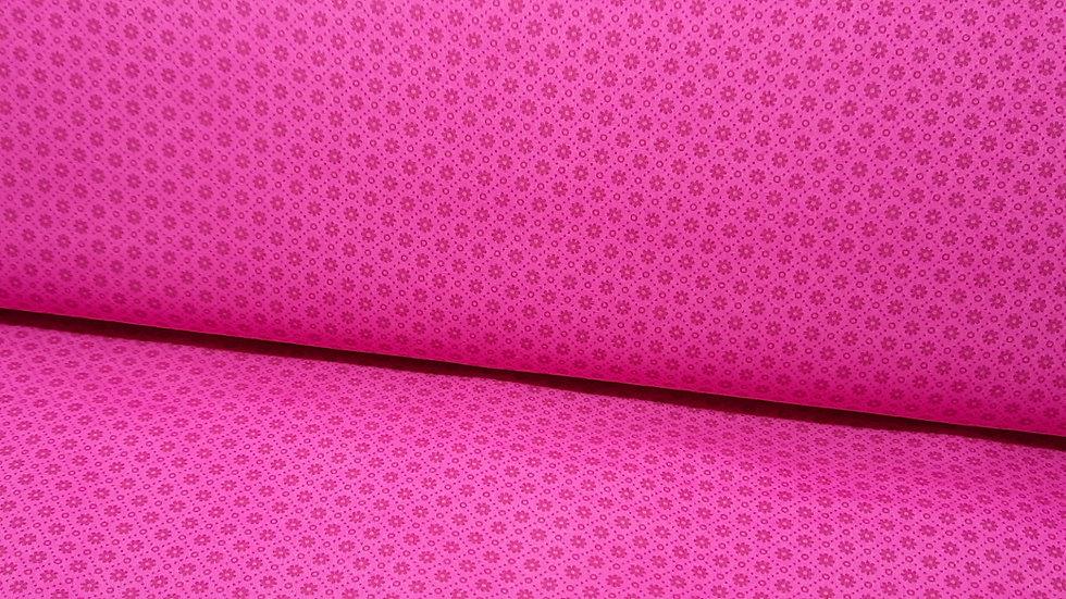 Daisy Chain Greta Lynn, småmønstret pink, 0,5 m