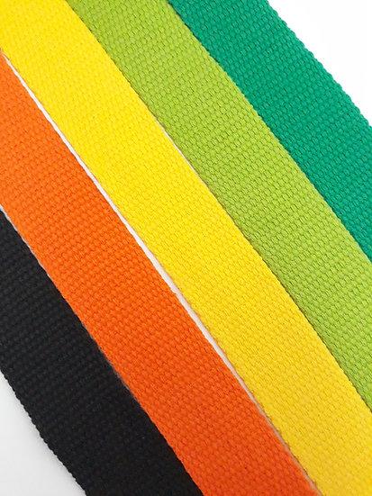 vevet bånd 30mm, flere farger
