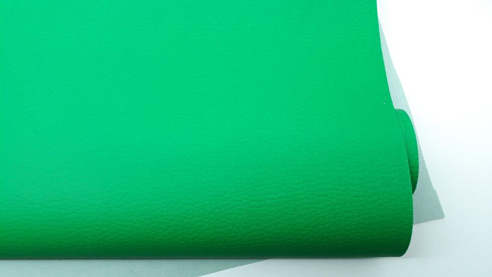 imitert lær/ kunstskinn grønn, 50 cm x 1,40 m
